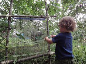 Seasonal Gnome: Garden Loom backyard play