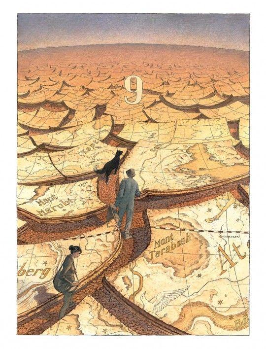 françois schuiten comics | art Comics François Schuiten Les Cités Obscures