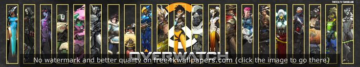 Overwatch Triple Monitor wallpaper