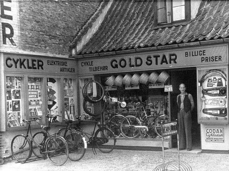 Cykelforretningen Gold Star på Tingvej