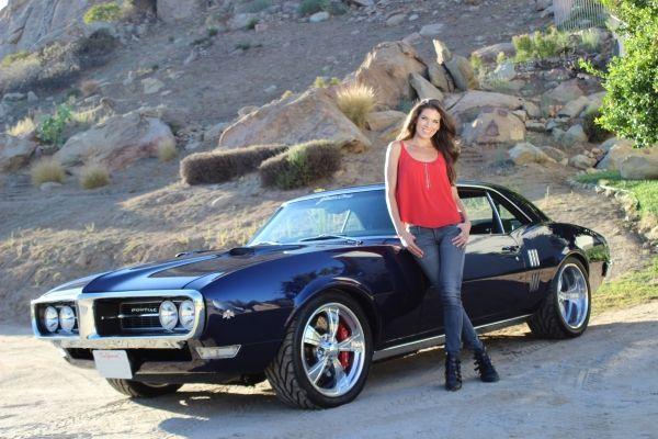 Adrienne Janic And Her 1968 Pontiac Firebird Built By Year