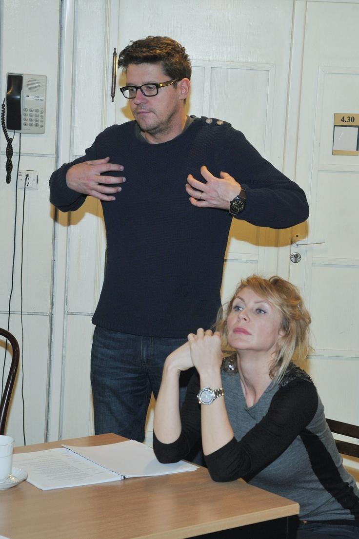 Beata Ścibakówna i Wojciech Malajkat (fot. J. Bogacz/TVP)