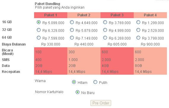 Jadwal Masuk, Pre-Order dan Harga iPhone 5 Resmi di Indonesia