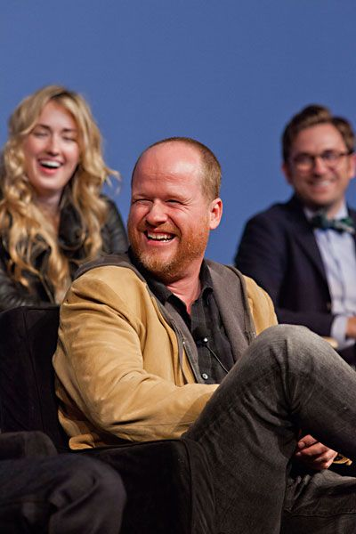Joss Whedon (i love how his eyes crinkle when he smiles!)