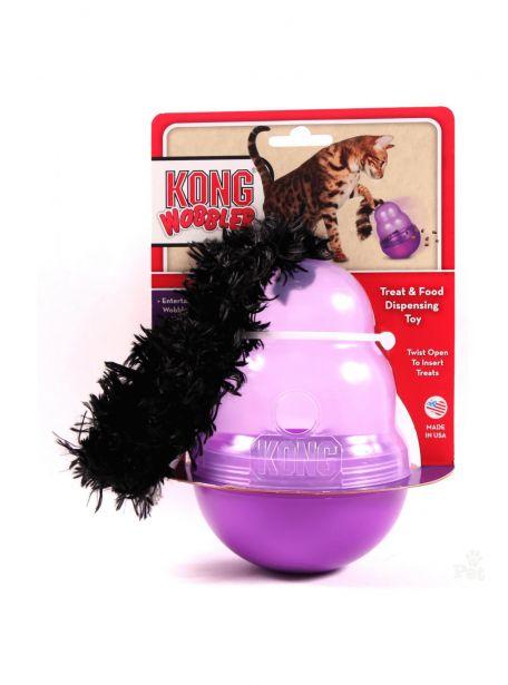 Kong Wobbler Juguete rellenable para Gato