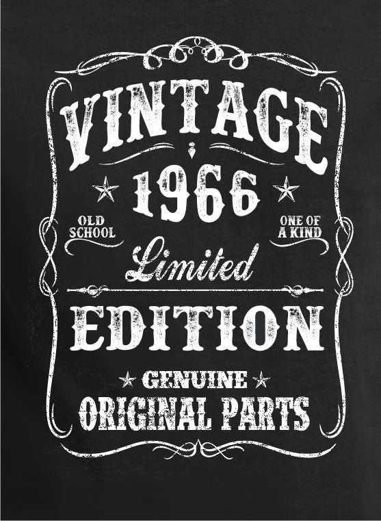 50th Birthday Gift Shirt Turning 50 50 Years Old by BluYeti