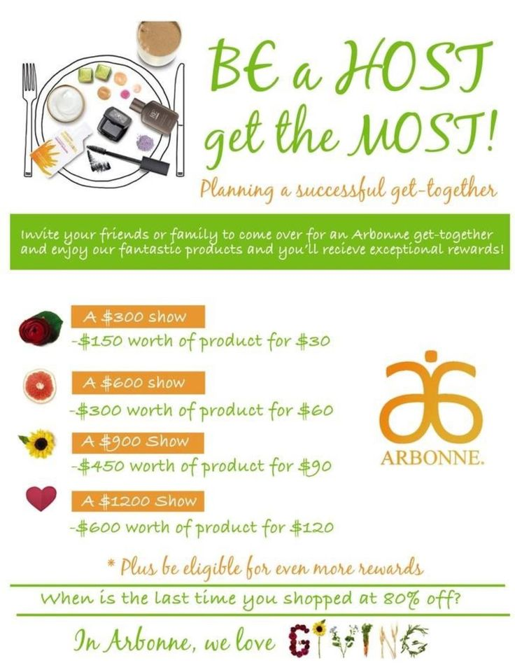 Get FREE products!!! Host a party! loriannjack@gmail.com IC#19687519