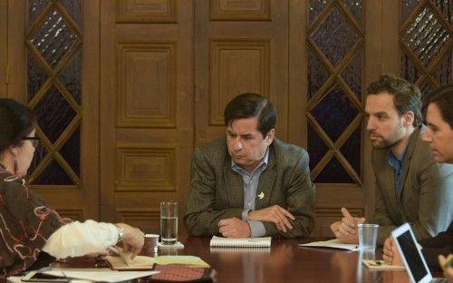 El ministro Juan Fernando Cristo se reunió con la Misión Electoral Especial imagen 4