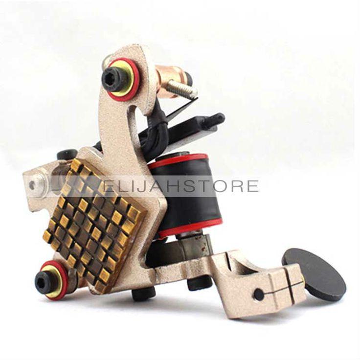 Cheap Professional Tattoo Kit Machine Gun 8006 Rubik's Cube Liner Shader 10 Wraps Coils  $30.71