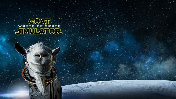 Goat Simulator: Waste of Space DLC Out March 21 on PS4 #Playstation4 #PS4 #Sony #videogames #playstation #gamer #games #gaming