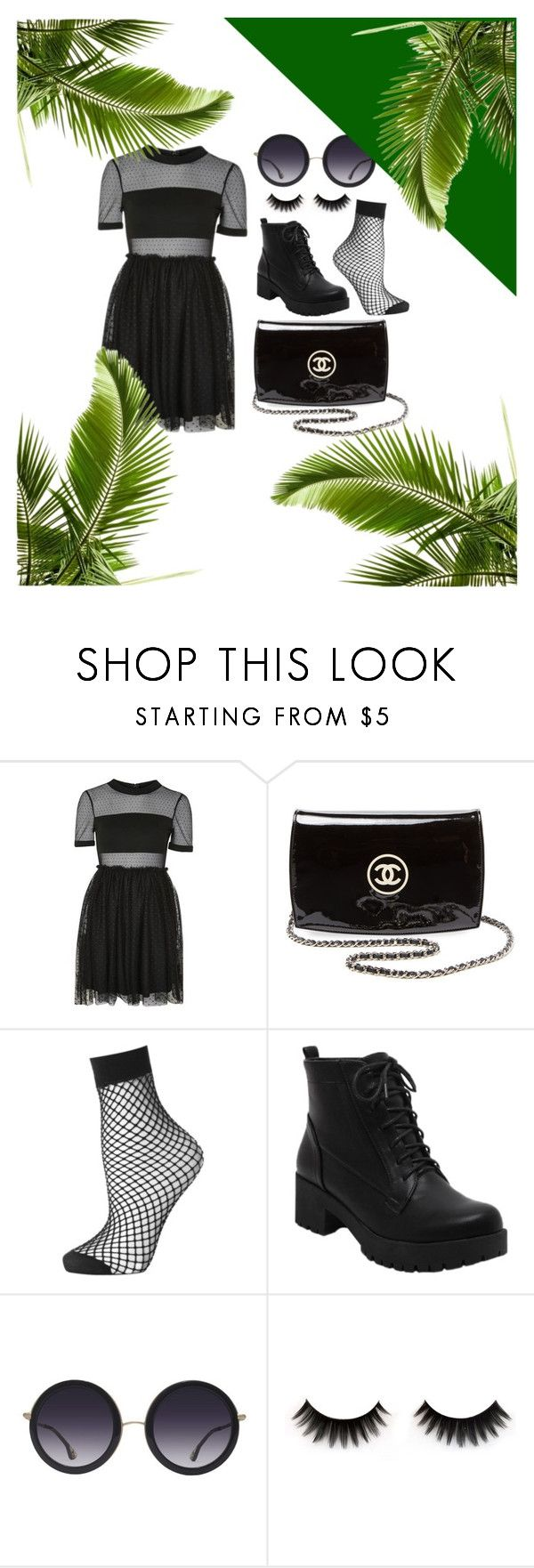 """""""💚"""" by chillinvibes ❤ liked on Polyvore featuring Topshop, Chanel, Alice + Olivia, men's fashion and menswear"""