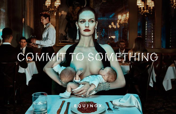 "1 | Equinox demands fierce ""commitment"" in bold New Year ad campaign 