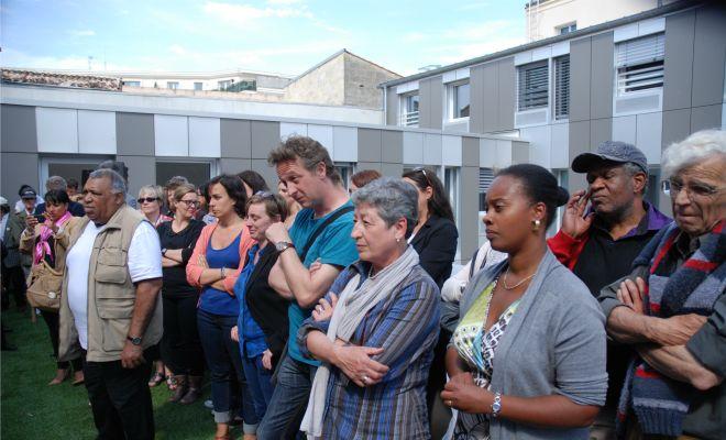 Inauguration de la Maison Départementale de la Solidarité et de l'Insertion de Bordeaux Saint-Jean
