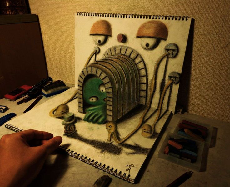 Best D Drawing Images On Pinterest D Drawings Drawings - 29 incredible examples 3d pencil drawings
