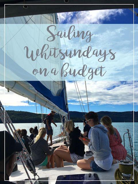 Sailing Whitsundays on a budget