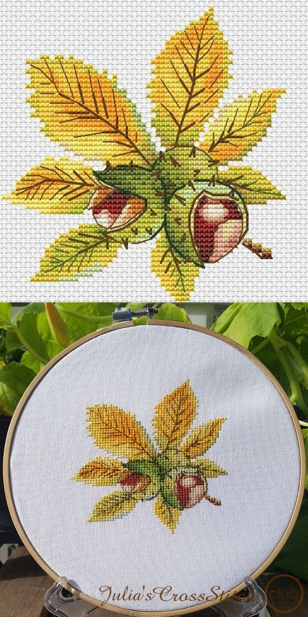 Special prices for fall cross stitch patterns! Decorate your fall with wonderful designs by Kseniya Adonyeva.