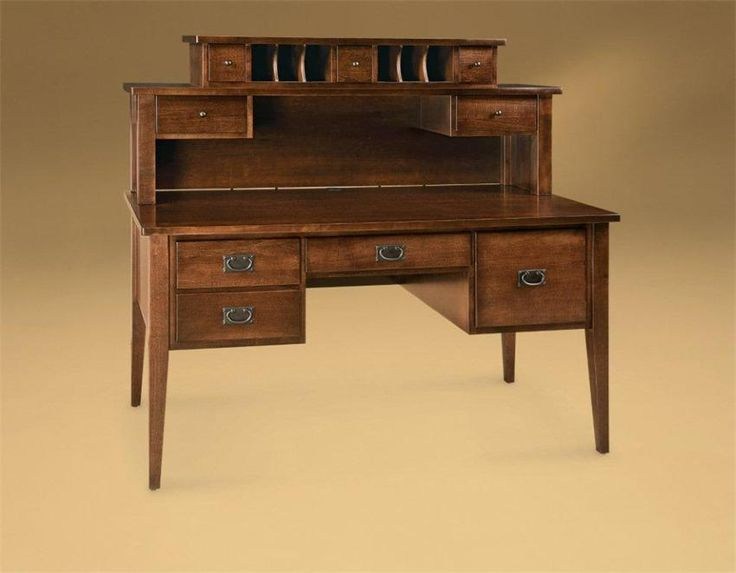 Amish Office Furniture Shaker Desk
