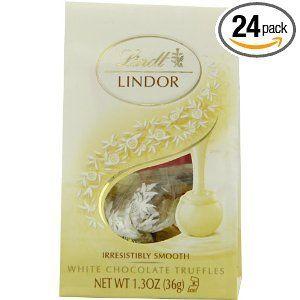 Lindt Lindor Stracciatella White Chocolate Truffels
