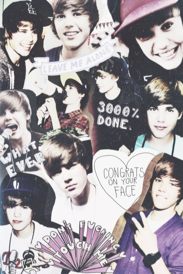 Tumblr iphone wallpaper justin bieber - Justin Bieber Tumblr Collage Background 1 Hd Wallpapers