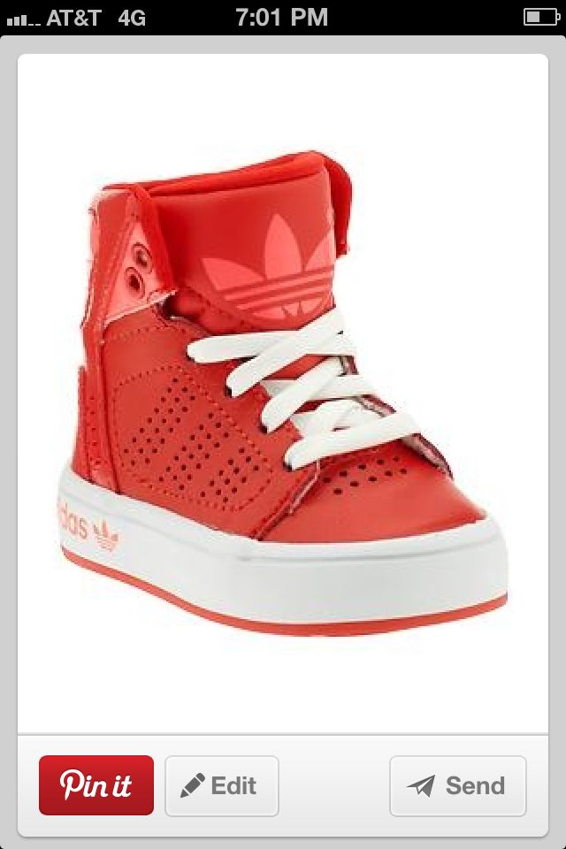 red adidas high tops for gunnar