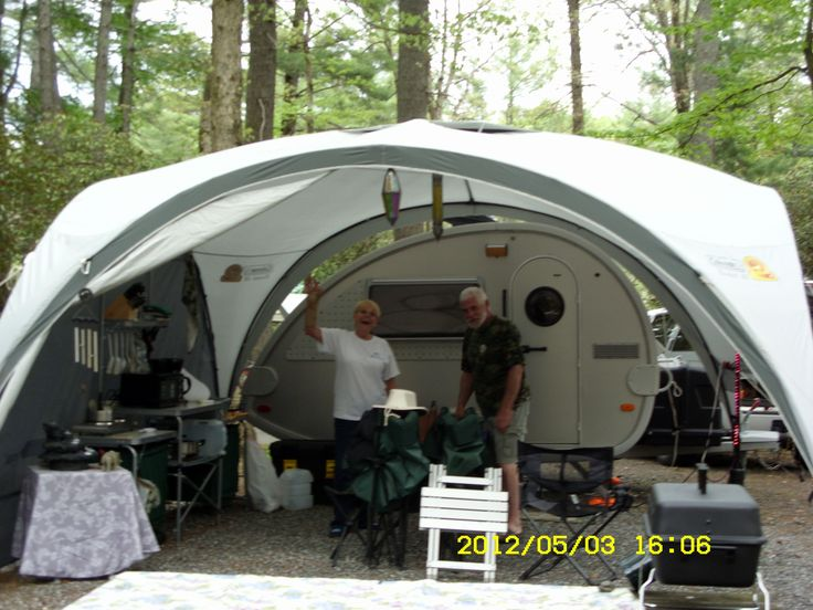 T G Teardrop With Tent Google Search Tent Trailer