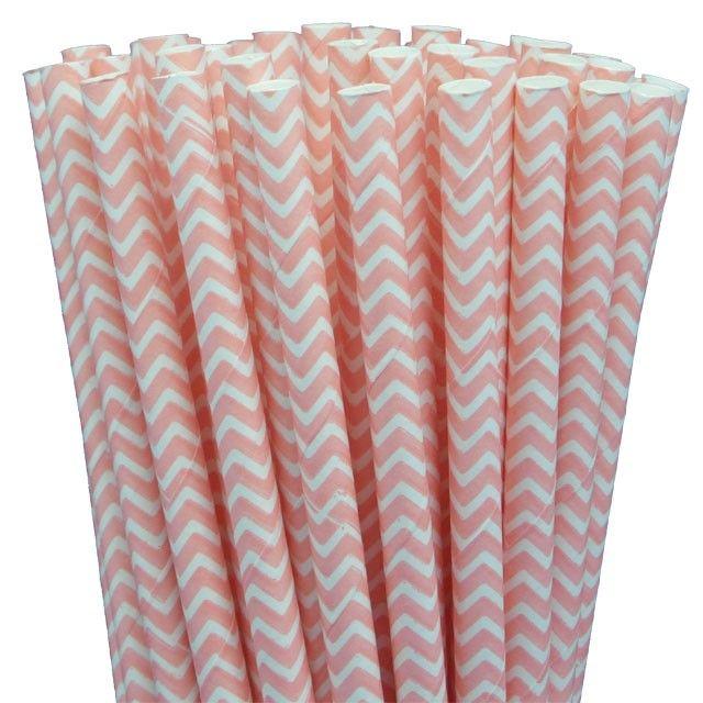 Greenmunch - Paper Straws - Light Pink Chevron, $4.50 (http://www.greenmunch.ca/paper-straws/standard-length/chevron/paper-straws-light-pink-chevron/)