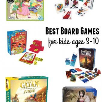 Gift Guide: Best Board Games for Kids Ages 3-10