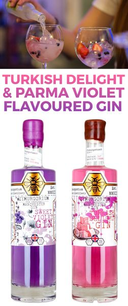 How about trying Turkish Delight or Parma Violet Flavoured Gin! Yum!