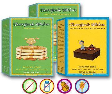Nut Allergy Safe Cake Mixes