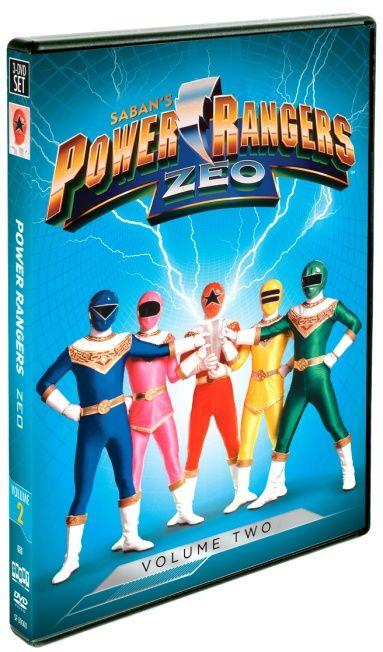Power Rangers Zeo Vol 2 US/CAN 2/27 2 Winners