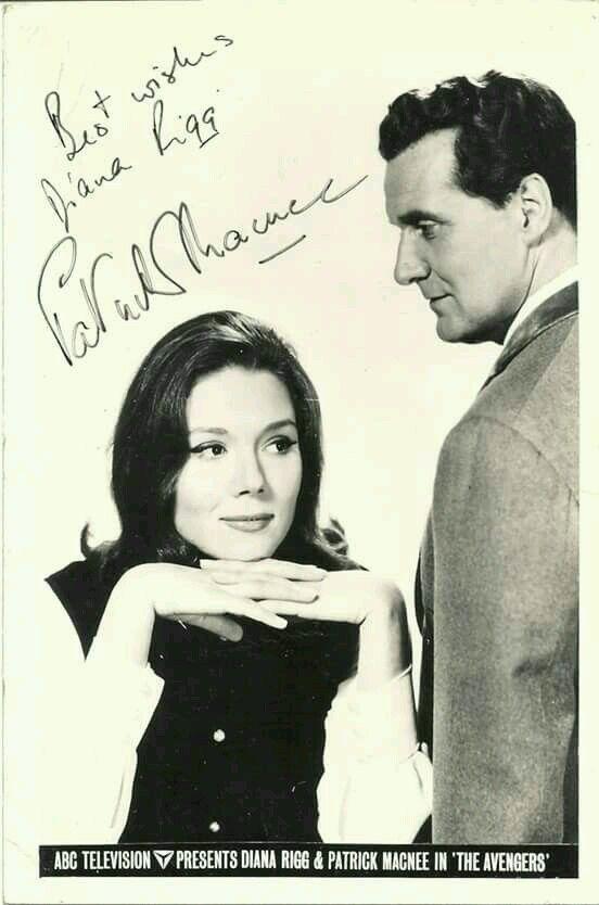 John Steed — A nice photo of Diana Rigg and Patrick Macnee