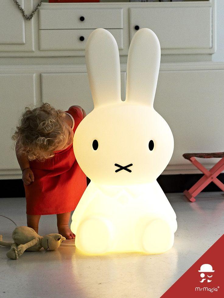 Miffy XL bunny lamp
