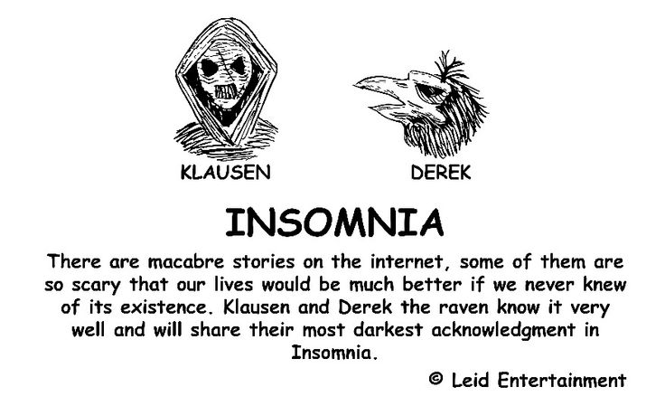 Insomnia - Front Page