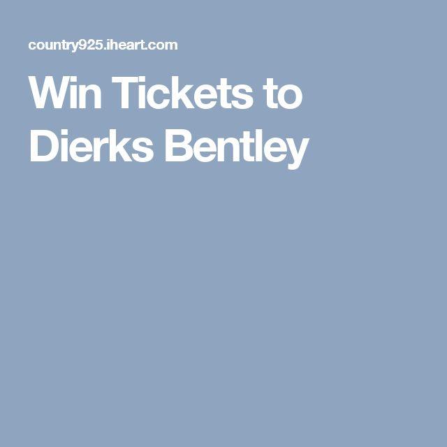 Win Tickets to Dierks Bentley