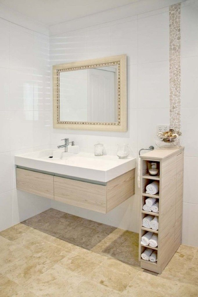 commercial bathroom ideas | ... space with small bathroom storage small apartment bathroom storage