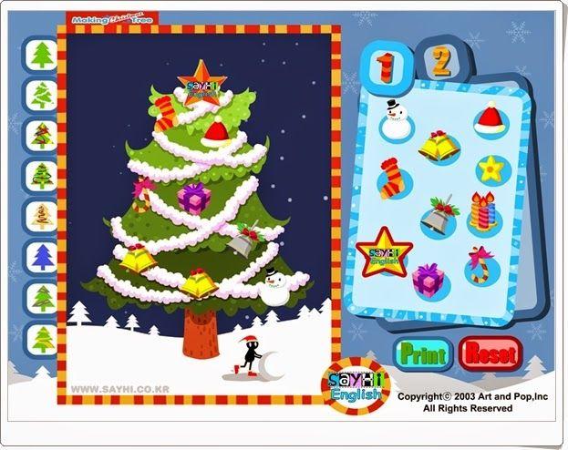 Christmas tree es un sencillo juego para confeccionar e - Arbol de navidad sencillo ...