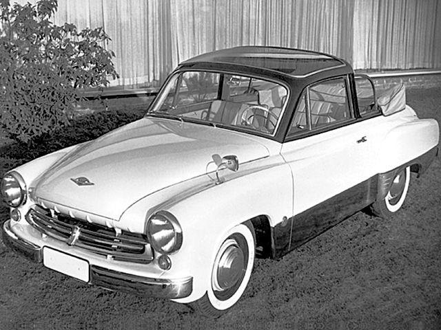 1957Wartburg311 Bellevue Prototype