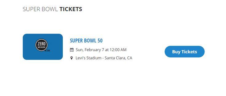 Buy #2016SuperBowl tickets Online at ZeronoseBleeds. Visit http://zeronosebleeds.com/NFL-Tickets/Super-Bowl-Tickets for buying tickets