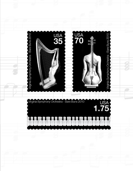 Classical Postage Stamps