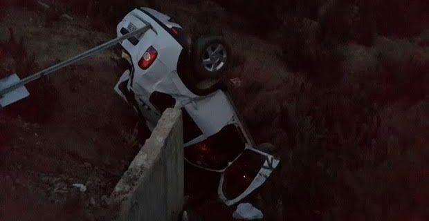 Alucra'da Trafik Kazası, 1 Ölü 3 Yaralı