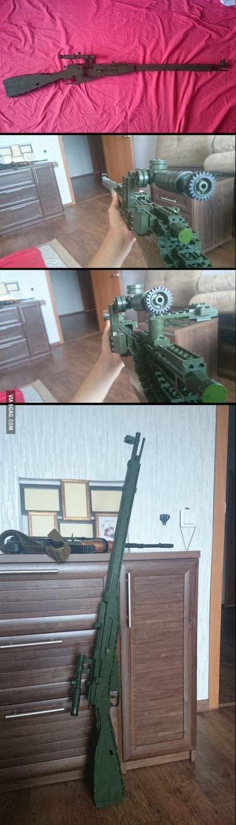 Lego M18/36 Moisin-Nagant Sniper-Rifle!