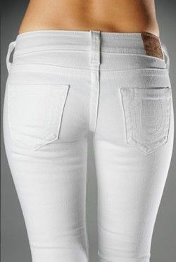White Jeans Womens - Is Jeans