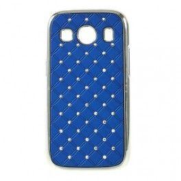 Galaxy Ace 4 tumman siniset luksus kuoret