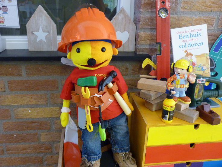 Pompom de bouwer. Prins Clausschool Zutphen.