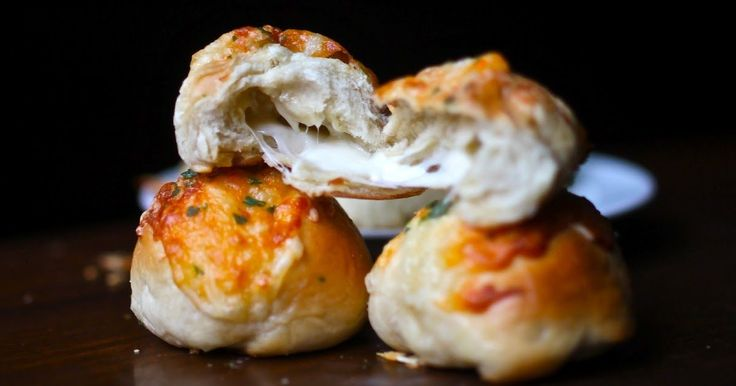 What do you get when you mix bread, cheese, Hunger Games, cheese, and cheese? Say it with me: Stuffed Cheese Buns. And guess what, they're r...