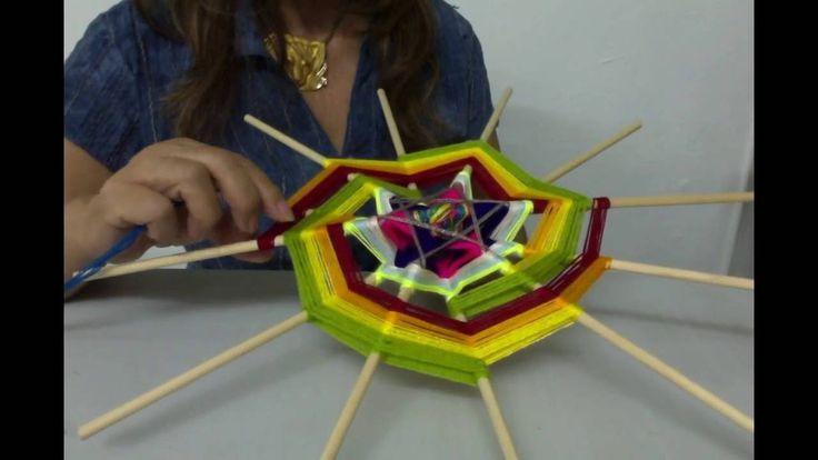 Mandala Espiral de la Vida. Segunda parte: como diseñar y tejer una e...