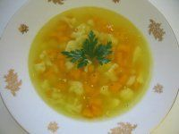 Letná karfiolová polievka