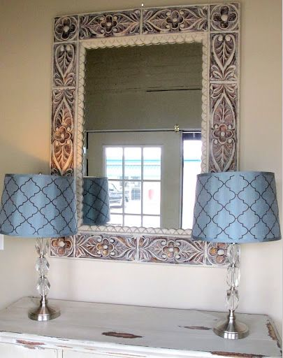 How to Update and Revamp Large Mirrors in Minutes...