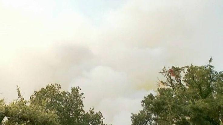 Hittegolven voeden de vele bosbranden rond de Middellandse Zee | NOS