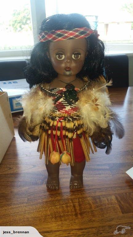Maori Pedigree Doll 14 inches   Trade Me